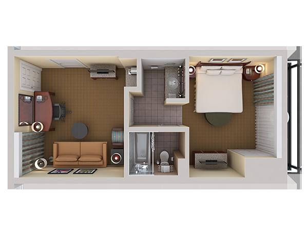 One Bedroom Suite (King)
