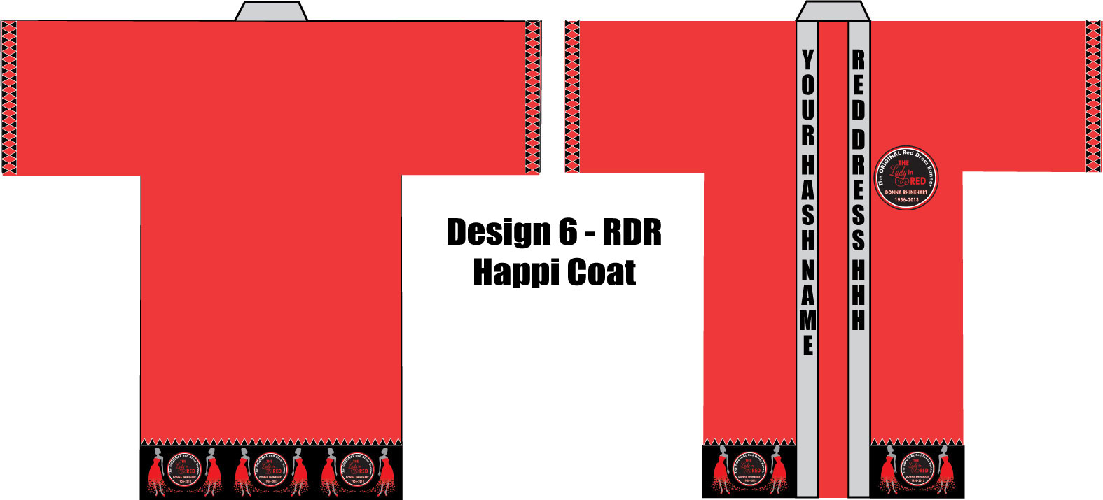 Colorful Happi Coat Nähmuster Crest - Decke Stricken Muster ...